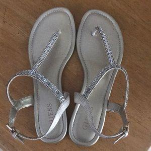 Guess sandals size 8 medium